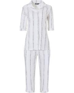 Pyjama met knoopjes Pastunette Deluxe