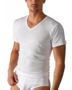 T-shirt met v-hals Mey noblesse