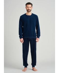 Pyjama heren Schiesser badstof