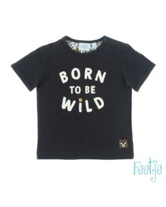 T-shirt Feetje born to be wild