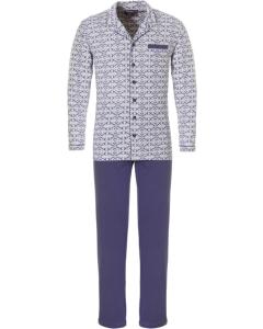 Pyjama doorknoop Pastunette heren