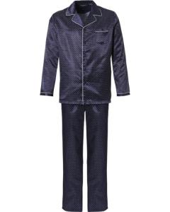 Pyjama doorknoop satijn Pastunette heren