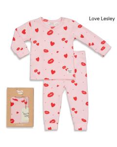 Pyjama Feetje love lesley