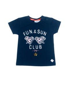 T-shirt Feetje fun en sun funbird