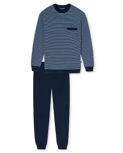 Pyjama met boorden Schiesser stripes