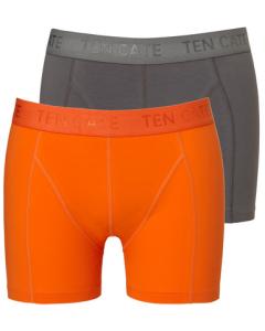 2 onderbroeken short Ten Cate grijs