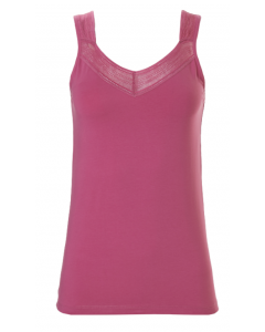 Hemdje met brede bandjes Ten Cate 1952 women lace roze