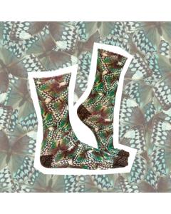 Sokje Sock my feet jungle queen