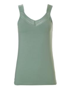 Hemdje met brede bandjes Ten Cate 1952 women lace groen