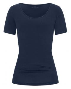 T-shirt met korte mouw Mey Cotton Pure night blue