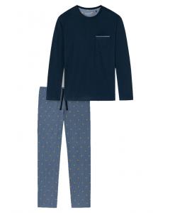 Pyjama Schiesser stripes hat