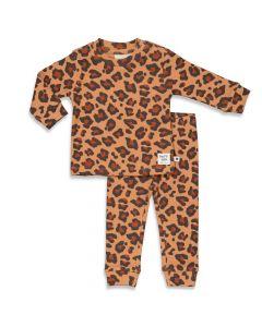 Pyjama Feetje leopard lee