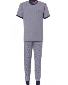 Pyjama korte mouwen Pastunette heren