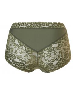 Slipje maxi Ten Cate secrets lace ash green