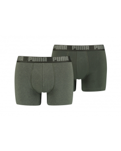 2 Shorts Puma basic boxer groen