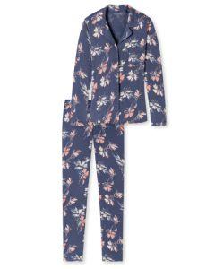Doorknoop pyjama Schiesser