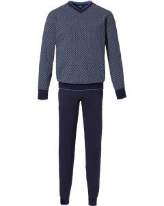 Pyjama heren met boorden Pastunette for men