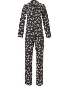 Pyjama met knoopsluiting Pastunette