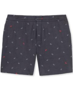 Pyjamabroek short Schiesser