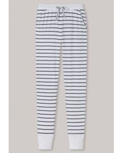 Pyjamabroek met boorden Schiesser