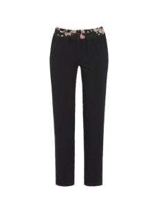 Pyjamabroek Ringella bloomy  zwart