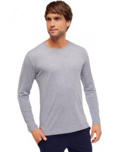 Pyjama t-shirt lange mouw Schiesser