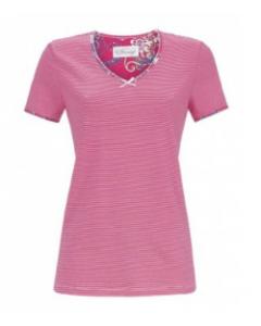 Pyjama shirt met korte mouw Ringella bloomy