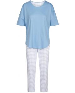 Pyjama korte mouw Rösch graphic minimal