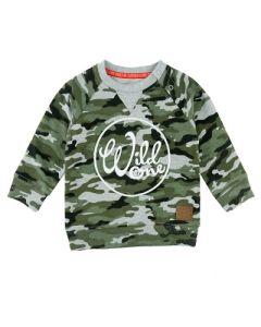 Sweater Feetje camouflage