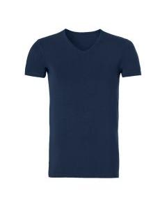 T-shirt met v-hals Ten Cate bamboo navy
