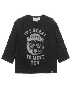 T-shirt lange mouw Feetje bear hugs